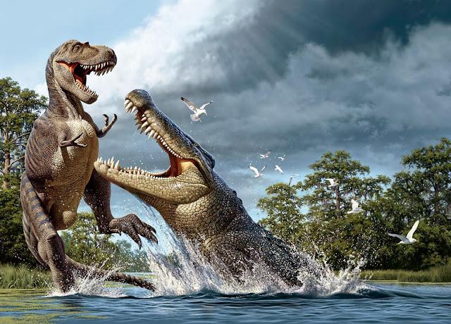 Nesli Tükendiğine Sevineceğiniz Hayvan - Deinosuchus - Kurgu Gücü