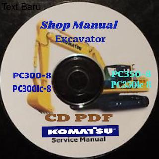 Komatsu pc300-8 pc300lc-8 pc350-8 pc350lc-8