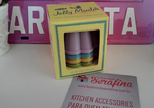 Bem Vinda Serafina, Formas, Gelatina, Na Cozinha da Maricota, Cozinha, Acessórios, Recebido, Resenha,