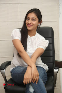 Tollywood Telugu Actress Mouryaani Latest Stills in Ripped Jeans at Intlo Deyyam Nakem Bhayam Movie Interview  0062.JPG