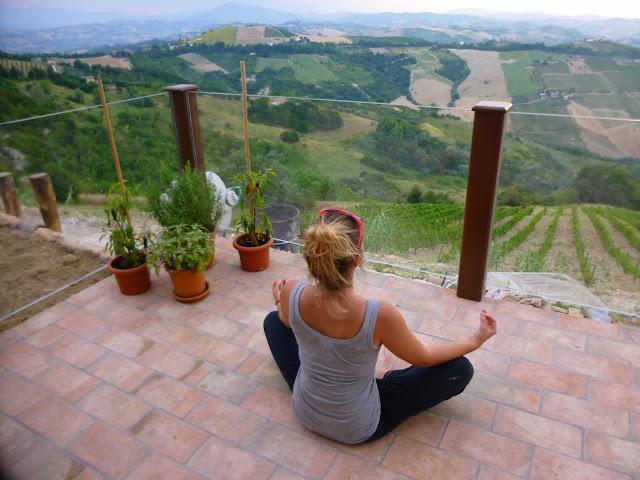 meditating italy