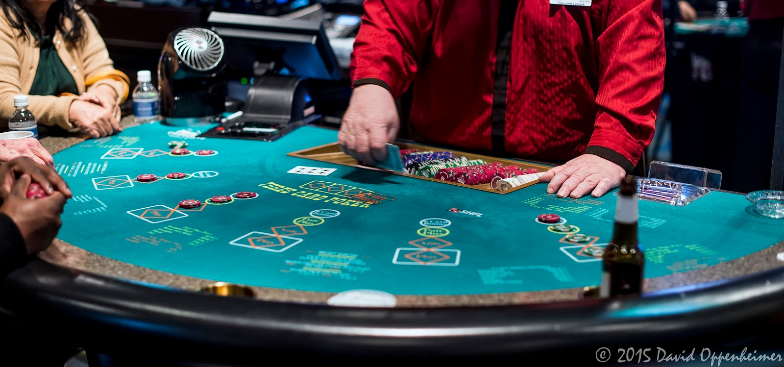 Poker Table at Harrah's Cherokee Casino