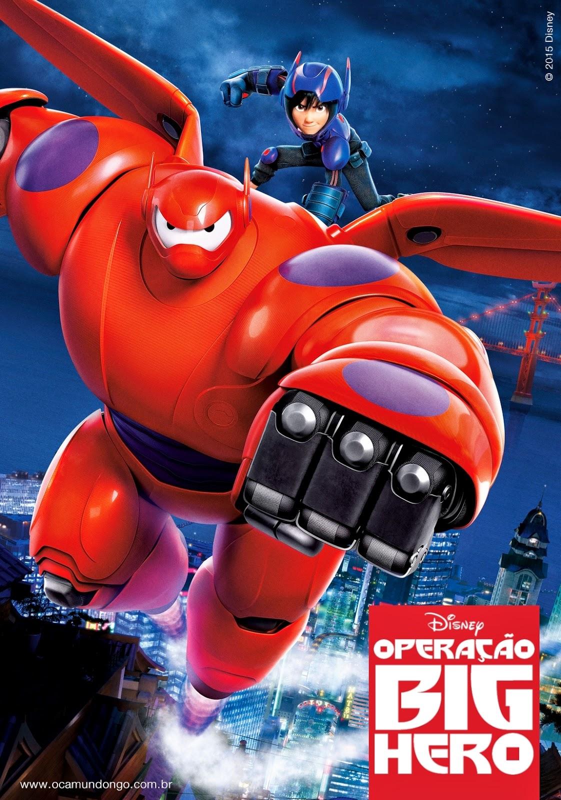 Operação Big Hero Dublado