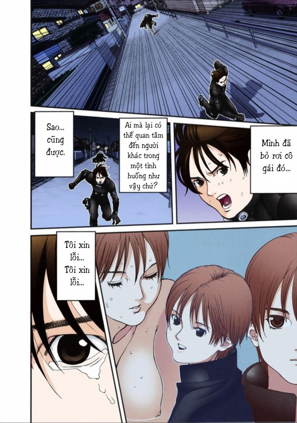 Gantz Chap 14: Không sợ trang 2