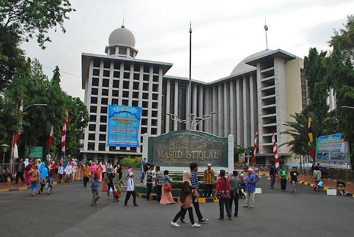 Mezquita Mesjid Istiqlal de Yakarta
