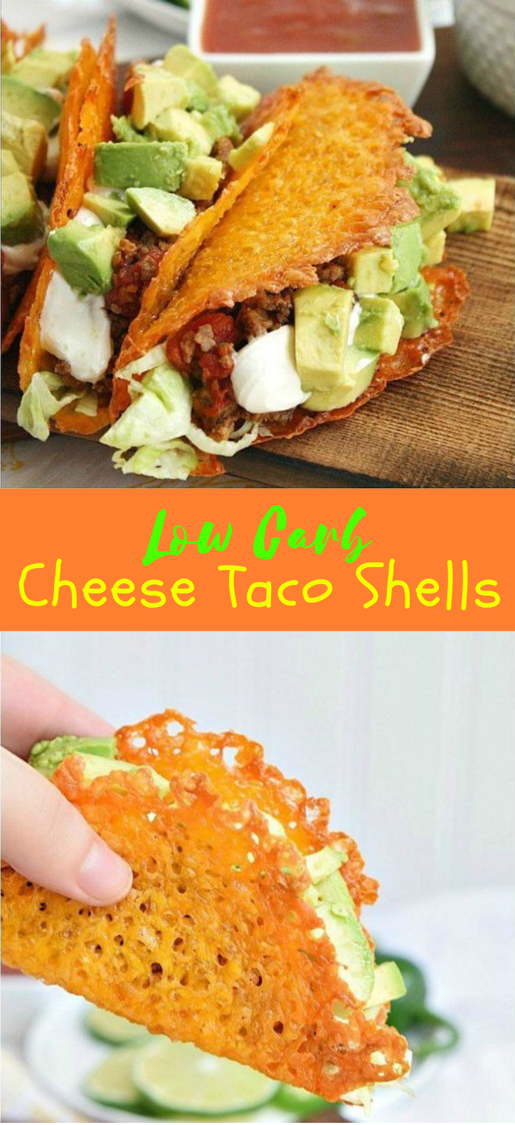 CHEESE TACO SHELLS FOR A LOW CARB TACO NIGHT! #LowCarb #Taco