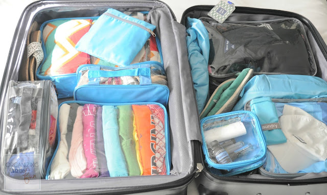EzPacking cubes make packing for two so much easier :: OrganizingMadeFun.com