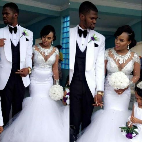 Meet Couple that met on Nigerian twitter two years ago just married......See Photos
