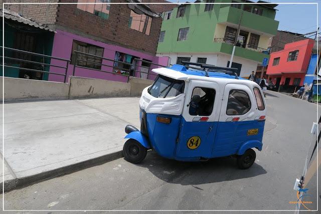 tuk tuk em Lima, Peru
