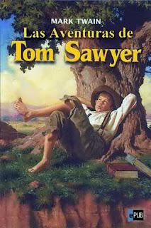 Portada del libro las aventuras de Tom Sawyer para descargar en pdf