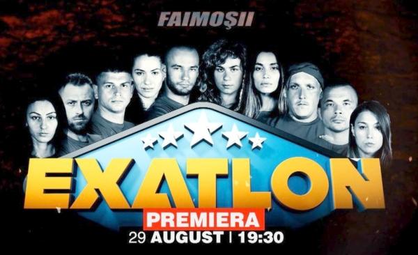 echipa Faimosii de la concursul Exatlon de la Kanal D