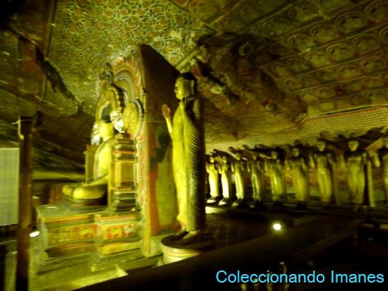Cuevas de Dambulla, Sri Lanka