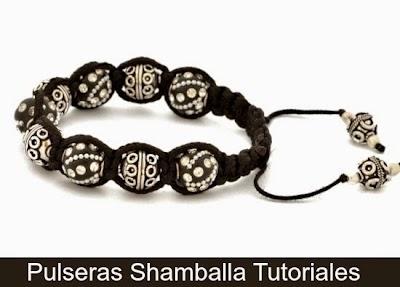Como hacer una Pulsera Shamballa 6+1 Tutoriales