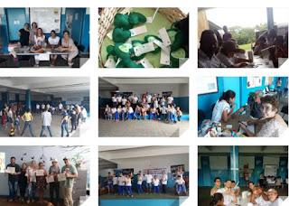 """Escola da Família da Escola Yolanda de Cananéia realiza Virada Inclusiva, Dia """"D"""" de Luta contra a AIDS e em Combate ao Aedes aegypti"""