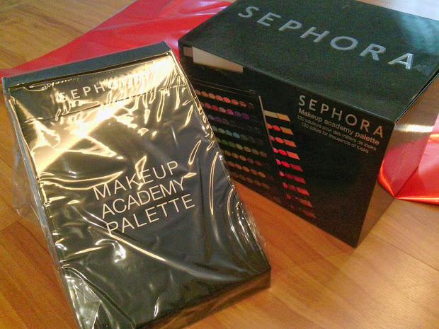 Unboxing Sephora Makeup Academy Blockbuster Palette