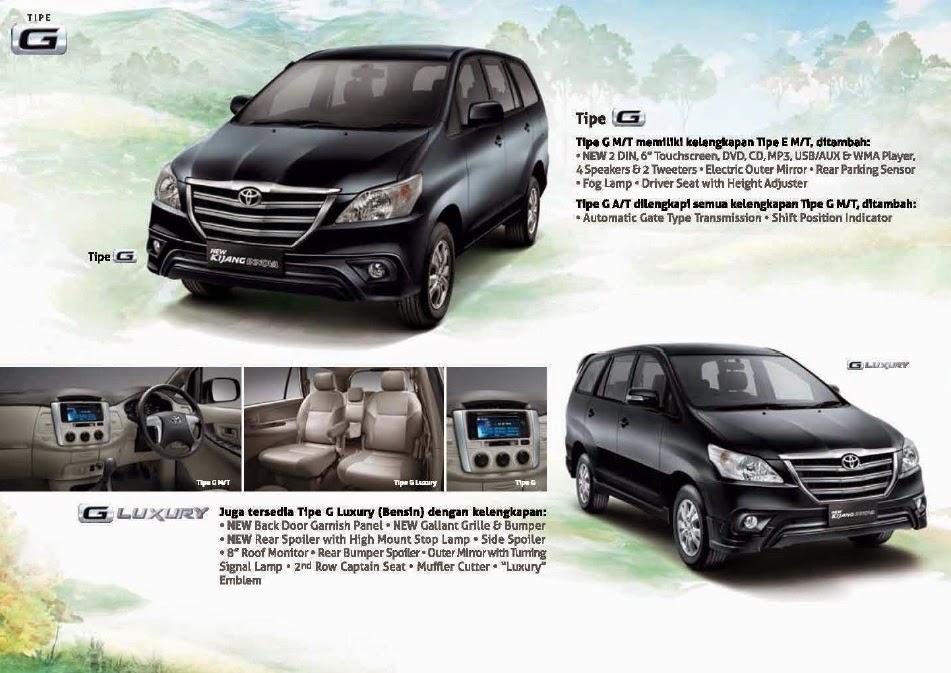 Perbedaan All New Kijang Innova G Dan V Bekas Toyota 2015 Stir Mobil Esemka