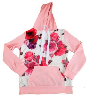 Mikina růžová