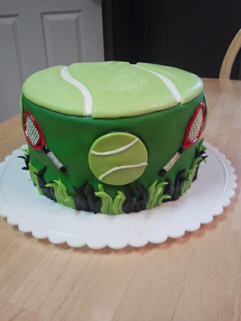 Images Of Birthday Cakes Tennis