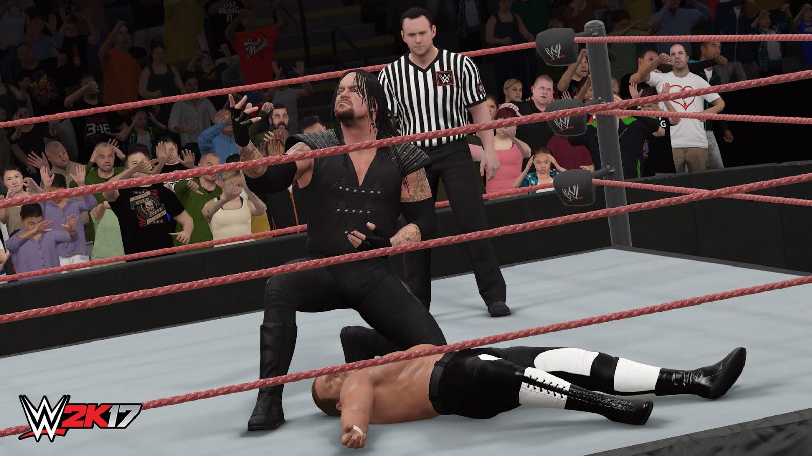 WWE 2K17 ESPAÑOL PC Descargar Full (CODEX) + REPACK 10 DVD5 (JPW) 4
