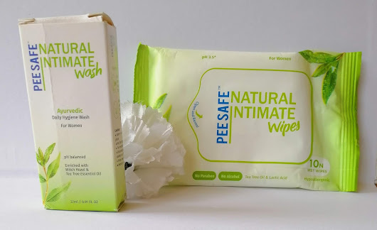 PeeSafe Natural Intimate Wash and Wipes Review