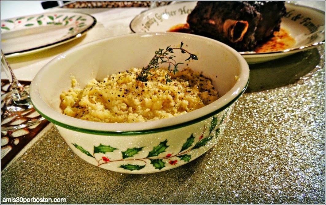 Menú Cena de Noche Vieja: Puré de Patatas