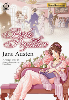 Review of the manga adaptation of Pride and Prejudice by Jane Austen