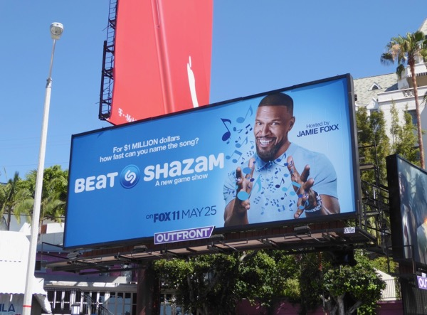 Beat Shazam series launch billboard