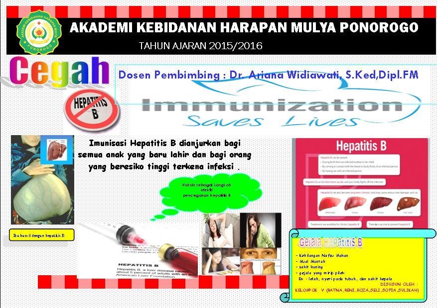 Kelompok 5 Ilmu Kesehatan Masyarakat Poster Pendidikan Kesehatan