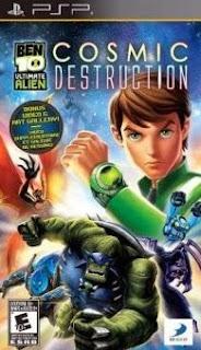 Ben 10 Ultimate Alien Cosmic Destruction PPSSPP Iso Ukuran Kecil