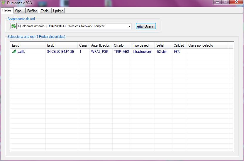 Mencari wifi aktif dengan dumpper dengan cara scan