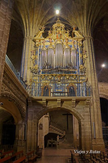 Órgano de la Iglesia de Nuestra Señora de la Asunción, Briones