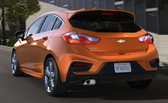 2018 Chevrolet Cruze Hatchback Automatic Review