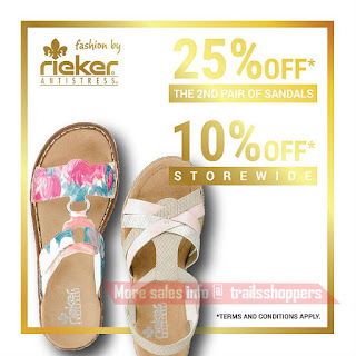 Rieker Shoes Merdeka Sales 2016