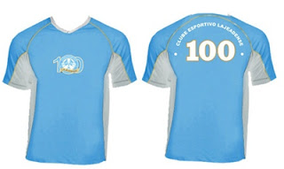 c71350c227 Lajeadense apresenta suas camisas do centenário