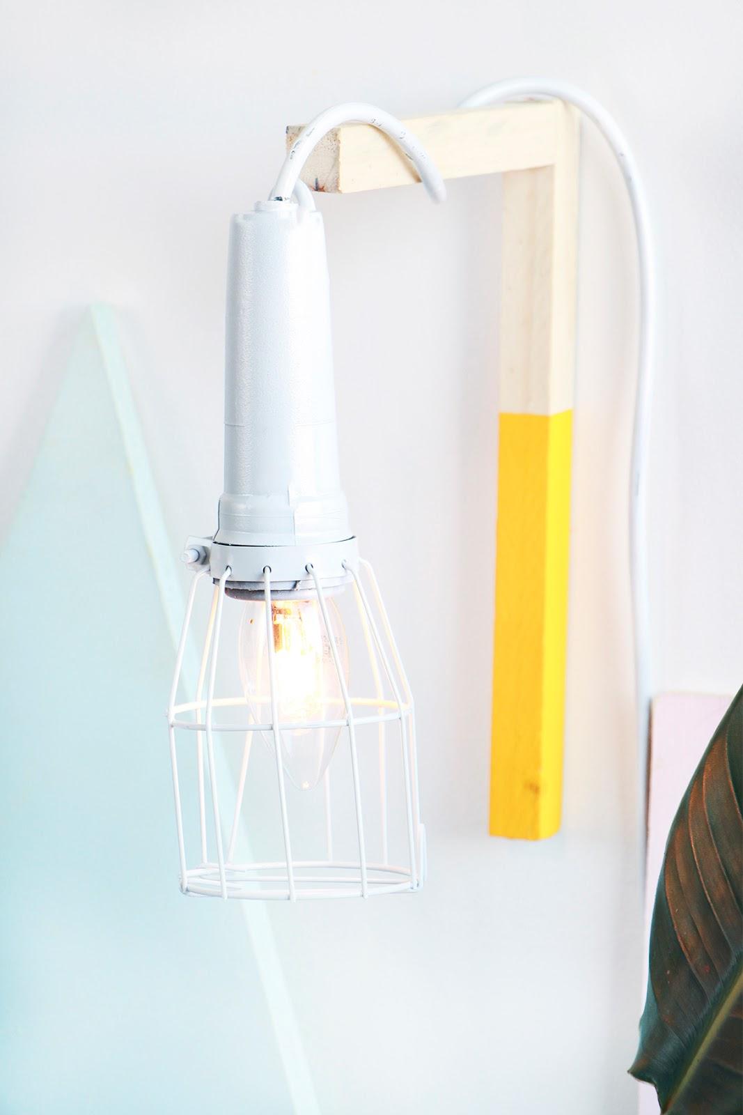 luminaria pendente gaiola aramado DIY faca voce mesmo