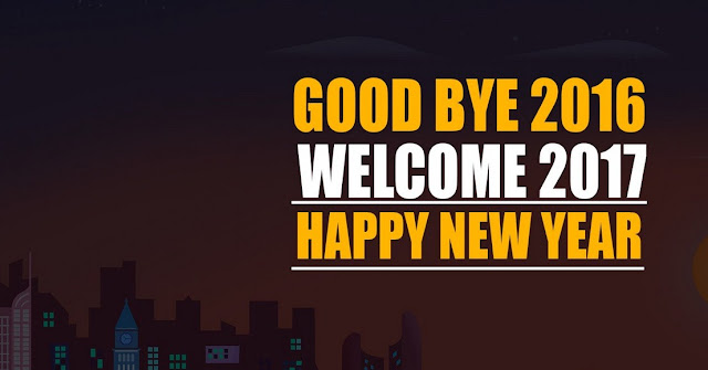 Goodbye 2016 Welcome New Year 2017 Wallpapers