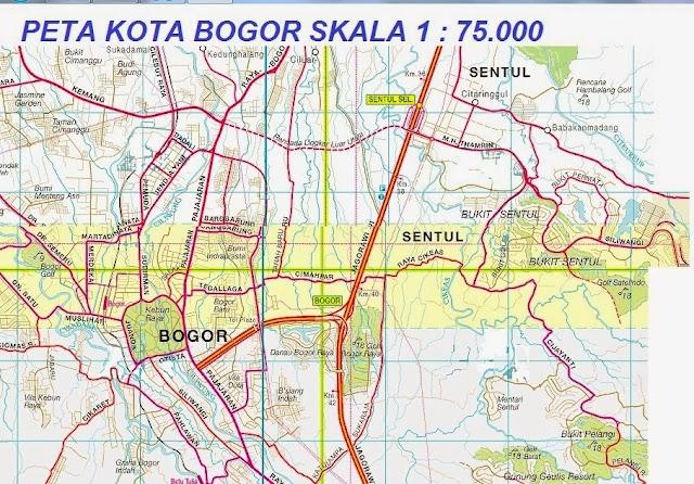 Peta Bogor