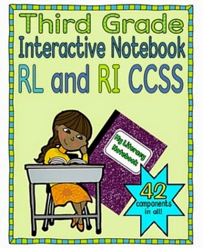Interactive Notebook, Third Grade---Crockett's Classroom