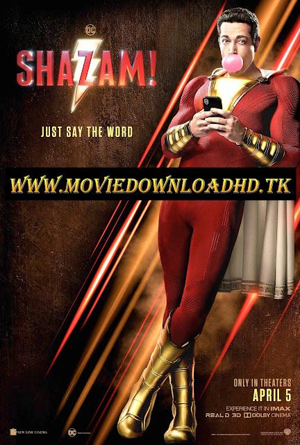 Shazam 2019 Hindi Dual Audio Full Movie Download 720p HDCAM 1.1GB/450MB [ www.moviedownloadhd.tk ]
