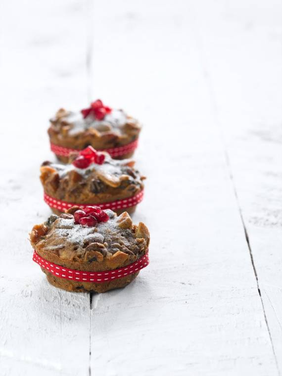 Mini Christmas Cakes: Homemade Christmas Gift Ideas