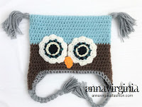 My 20th Design Square Owl Hat - AnnaVirginia Fashion