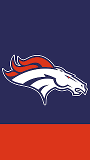 Wallpaper Denver Broncos blue para celular gratis