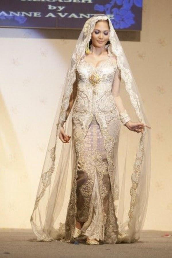 Mau Tahu Karya Terbaru Model Kebaya Muslim Anne Avantie Model Kebaya