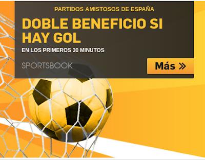 betfair doble cuota España vs Corea 1 junio