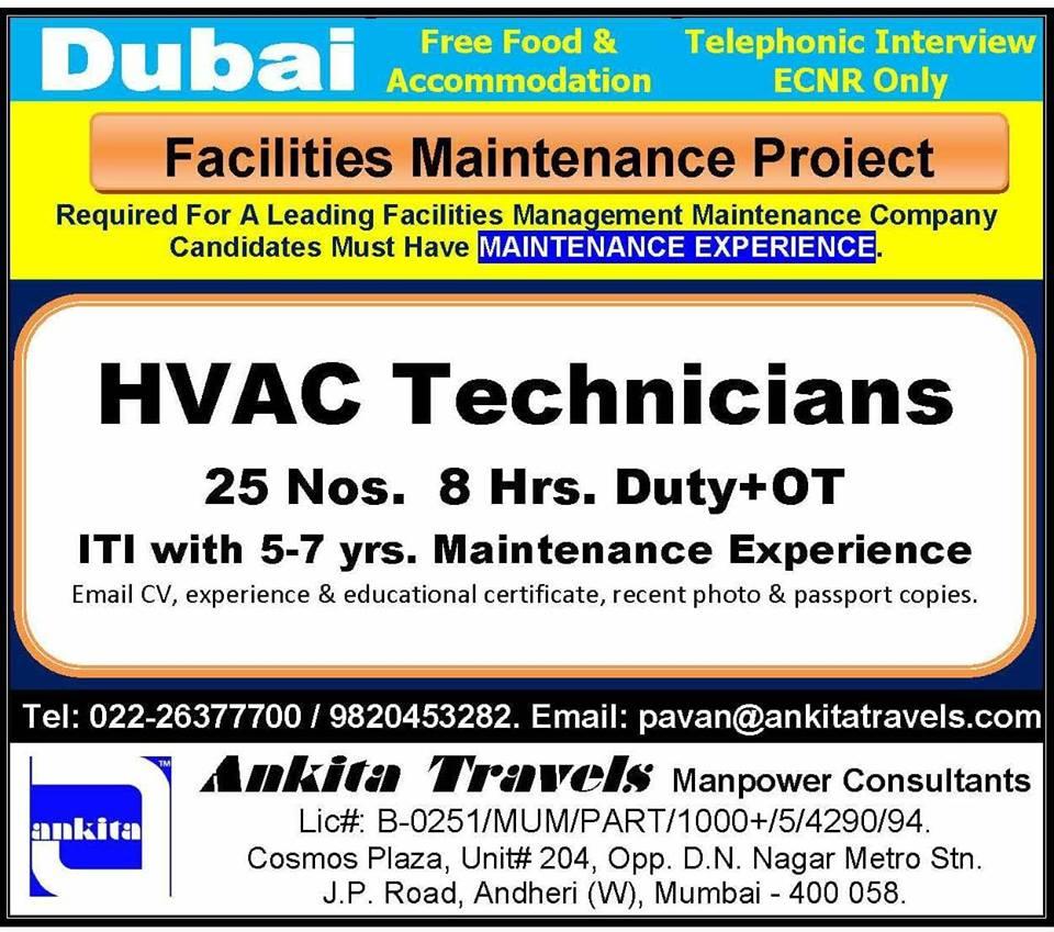 Facilities Management Maintenance Project in Dubai