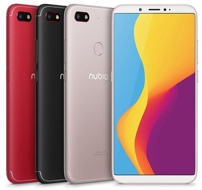 مواصفات موبايل Nubia V18 – سعر هاتف نوبيا V18