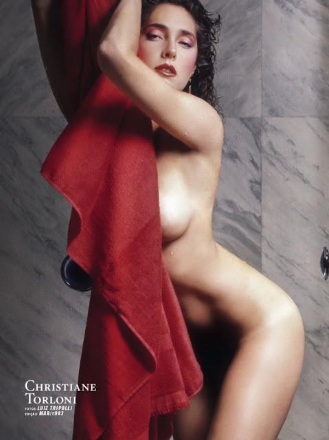 Fotos de Christiane Torloni nua pelada na Playboy