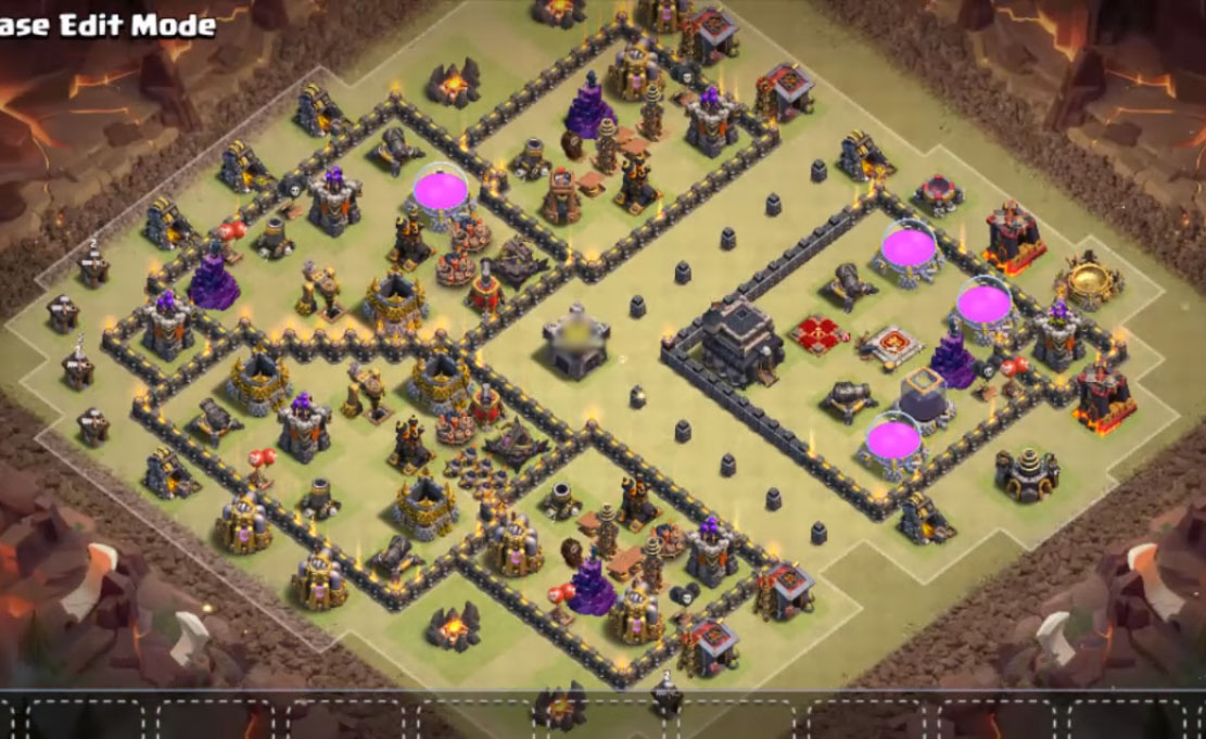 Base War Th 9 Anti 2 Star 10