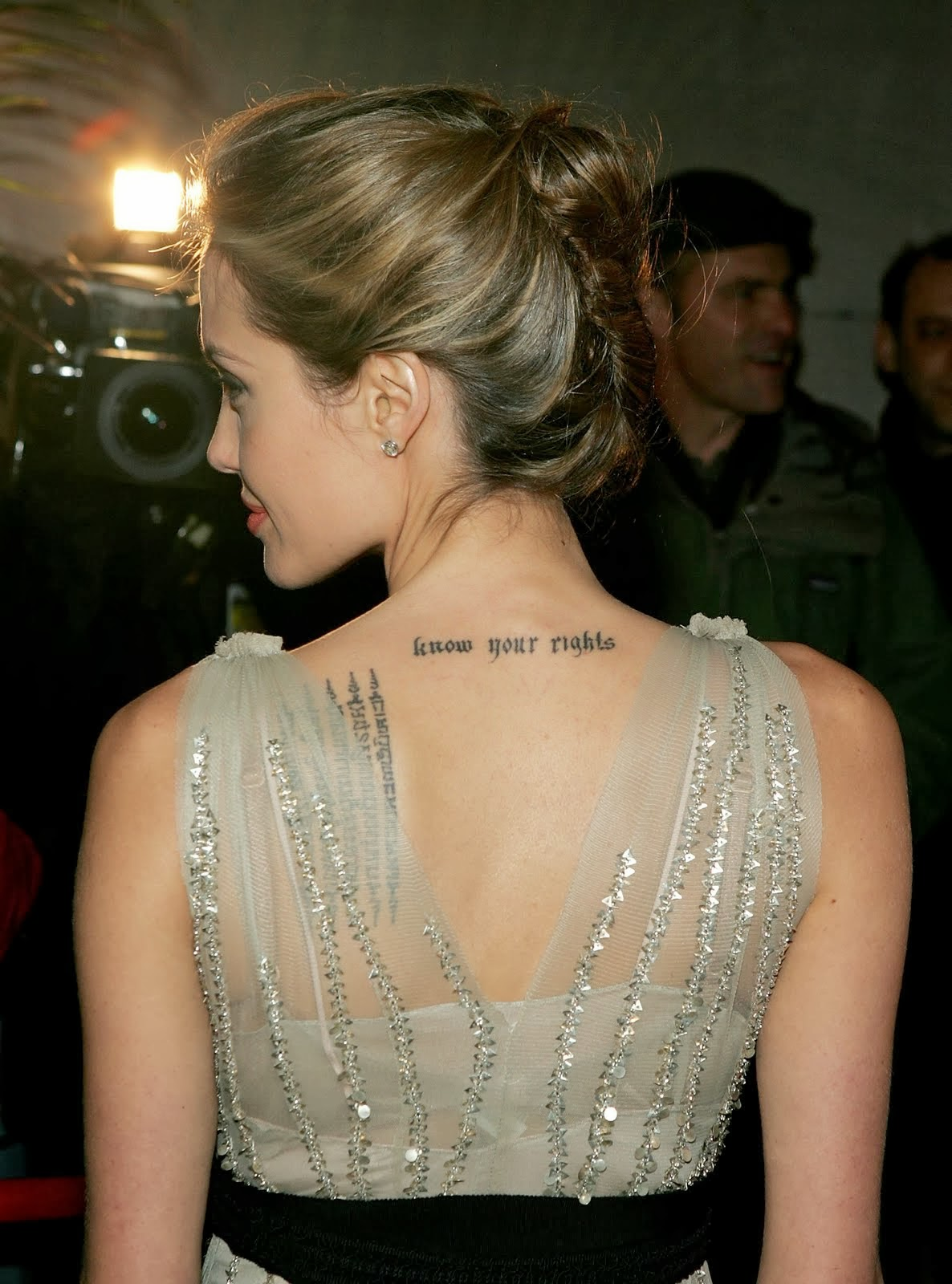 tattoo tattoos designs neck angelina jolie rights know tattooed amazing hair idea quote