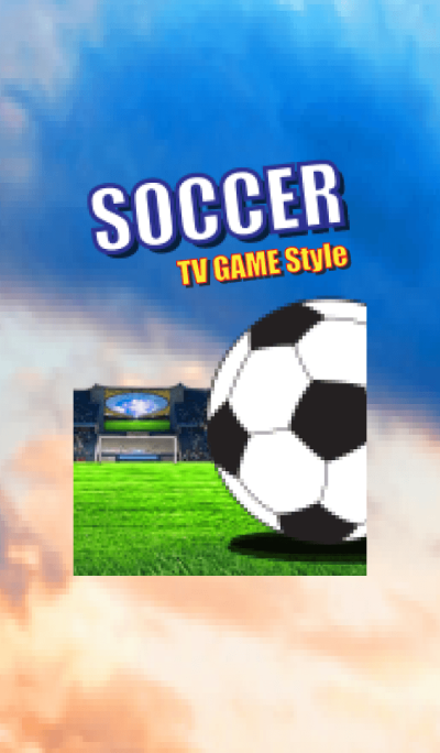 TV GAME style (SOCCER)